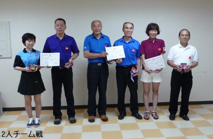 第14回 北信越シニアボウリング選手権大会 2人チーム戦