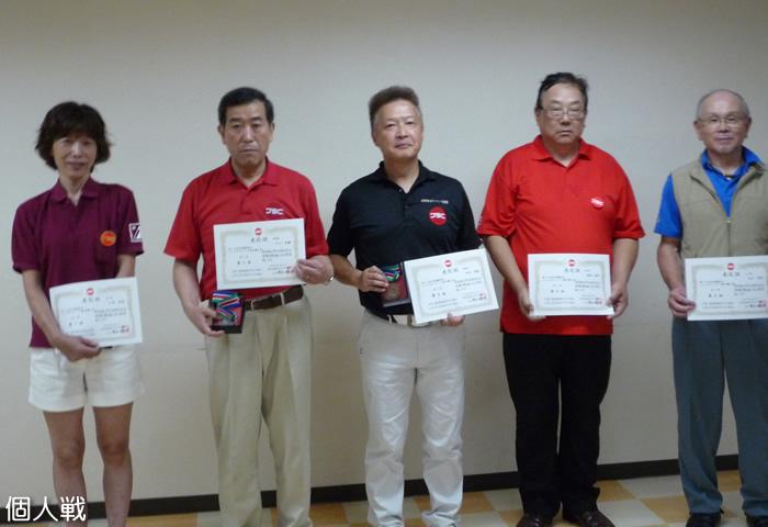 第14回 北信越シニアボウリング選手権大会 個人戦
